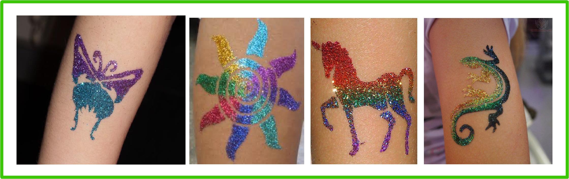 tetovaža od šljokica